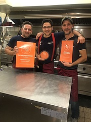 Pizzeria Cassavia ist Frankfurts City-Gewinner bei den BEST RESTAURANTS AWARDS 2017