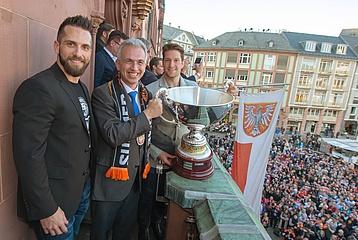 Meistertitel der Löwen im Kaisersaal gefeiert