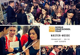 QS World Grad School Tour – Master-Messe Frankfurt