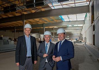 Neubau der Messehalle 12 - Eine Baustellen-Führung