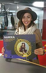 NAMIKA ist Gewinnerin der European Border Breakers Awards 2017 (EBBA)