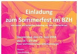 Sommerfest im BZH