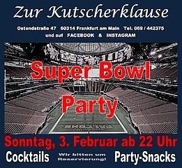SuperBowl 2019 LIVE gucken in Frankfurt