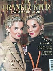 THE FRANKFURTER – Neues Magazin feiert Premiere