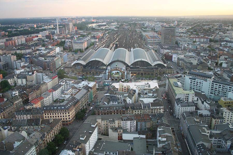Frankfurt Parkhäuser Innenstadt