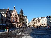 Winterlicher Spaziergang durch Frankfurt