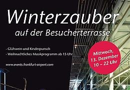 Winterzauber auf der Besucherterrasse - ABGESAGT