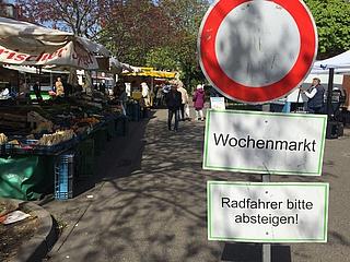 Neuer Wochenmarkt in Ginnheim eröffnet