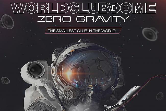 Erste Zero Gravity Party der Welt