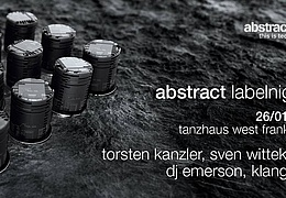 Abstract Labelnight
