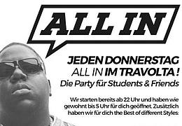 All In! Die Party für Students & Friends mit DJ Leon