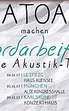Alligatoah - Akkordarbeit 2017 - Die Akustik Tour
