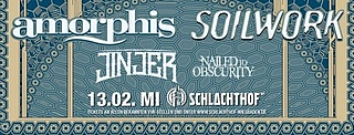 Amorphis / Soilwork / Jinjer / Nailed To Obscurity