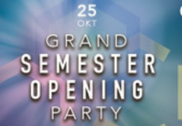 Asta Grand Semester Opening Party