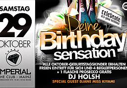 Birthday Party by DJane Miss Kiyami und DJ Holsh