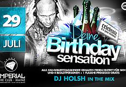 Birthday Party mit DJ Holsh