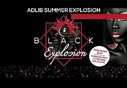 Black Explosion - 1 Jahresparty