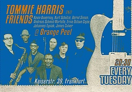 Blues-Soul-Funk Session mit Tommie Harris and  Friends