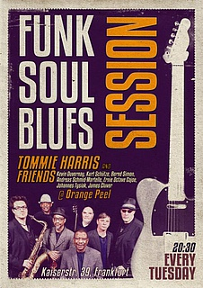 Blues/Soul/Funk Session with Tommie Harris & Friends