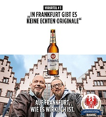Binding sucht wieder Frankfurter Originale