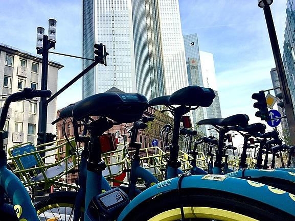 Fahrrad mieten: Bike-Sharing in Frankfurt