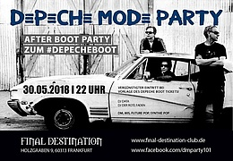 Depeche Mode Afterbootparty