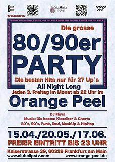 Die große 80er / 90er Party