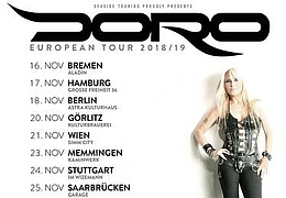 Doro - European Tour