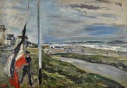 Ein Tag am Meer. Slevogt, Liebermann und Cassirer
