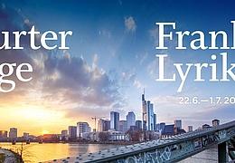 Frankfurter Lyriktage - Schlag auf Schlag. Poesie mit Beat