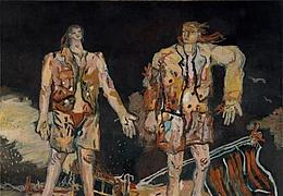 Georg Baselitz - Die Helden