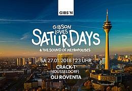 Gibson Loves Saturday - The Düsseldorf Edition