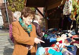 Herbstmarkt der Wormser Frauenverbände am Obermarkt