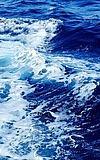 Ja das Meer ist blau, so blau