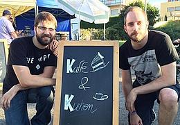 Junge Szene Rhein-Main: Kaffee und Kuchen