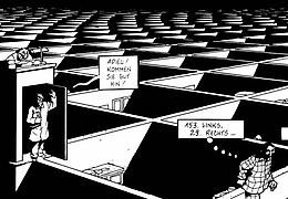 Kartografie der Träume - Die Kunst des Marc-Antoine Mathieu