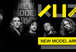 KUZ unterwegs präsentiert: New Model Army & special Guests