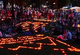 Lichterfest im Büsingpark