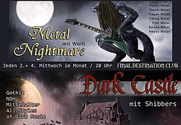 Metal Nightmare vs. Dark Castle