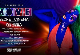 Move with Secret Cinema & Whebba