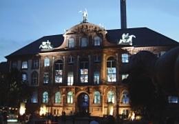 Nachts im Senckenberg Museum