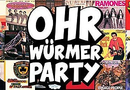 Ohrwürmer Party - 80er, 90er, 00er