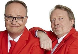 Oliver Welke und Dietmar Wischmeyer