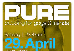 PURE – Clubbing for Gays & Friends