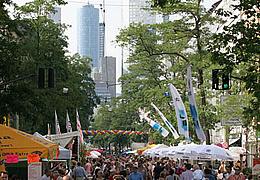 Schweizer Straßenfest
