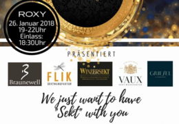 "Sektbar – We just want to have ""Sekt"" with you!"