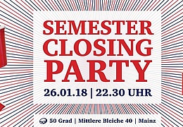 Semester-Closing-Party