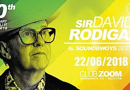 Sir David Rodigan 40th anniversary tour