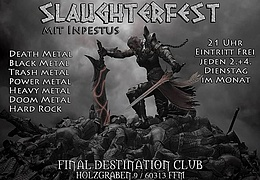Slaughterfest mit Inpestus