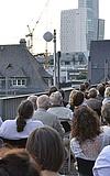 Sommerkino auf dem Dach - Licht